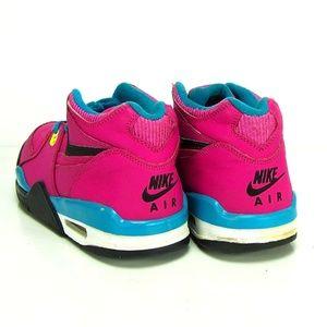 best service 6c8d5 fd886 shop nike shoes nike air flight 89 fusion pink blue yellow f4842 a5638